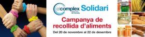 Campanya recollida d'aliments - El Complex